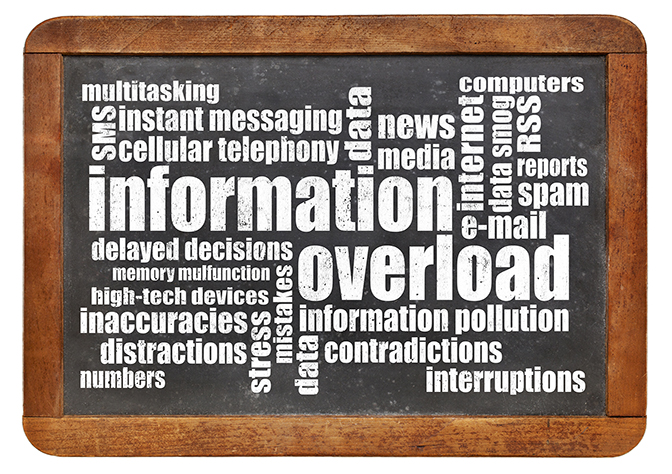 information overload within school districts